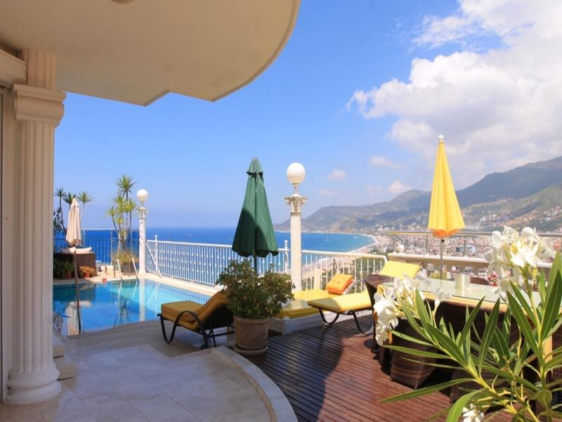 Privatvilla am Burgberg Alanya 536