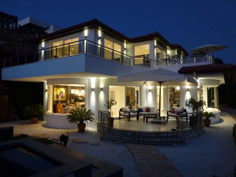 Luxus schlafzimmer mit meerblick  Luxus-Villa mit toller Ausstattung und Meerblick V554 - Turquoise ...