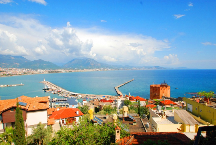 Sea View Apartment By Castle Alanya SK88