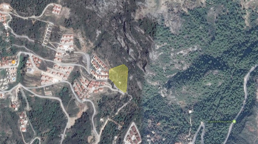 Sea View Plot For Sale Alanya C105