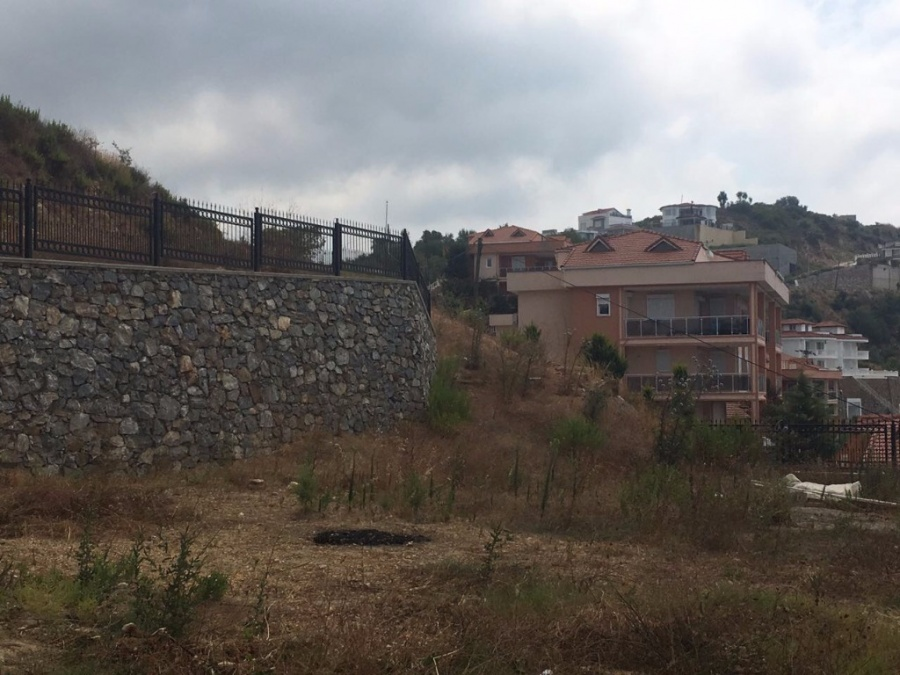 Sea View Land For Sale Alanya V994