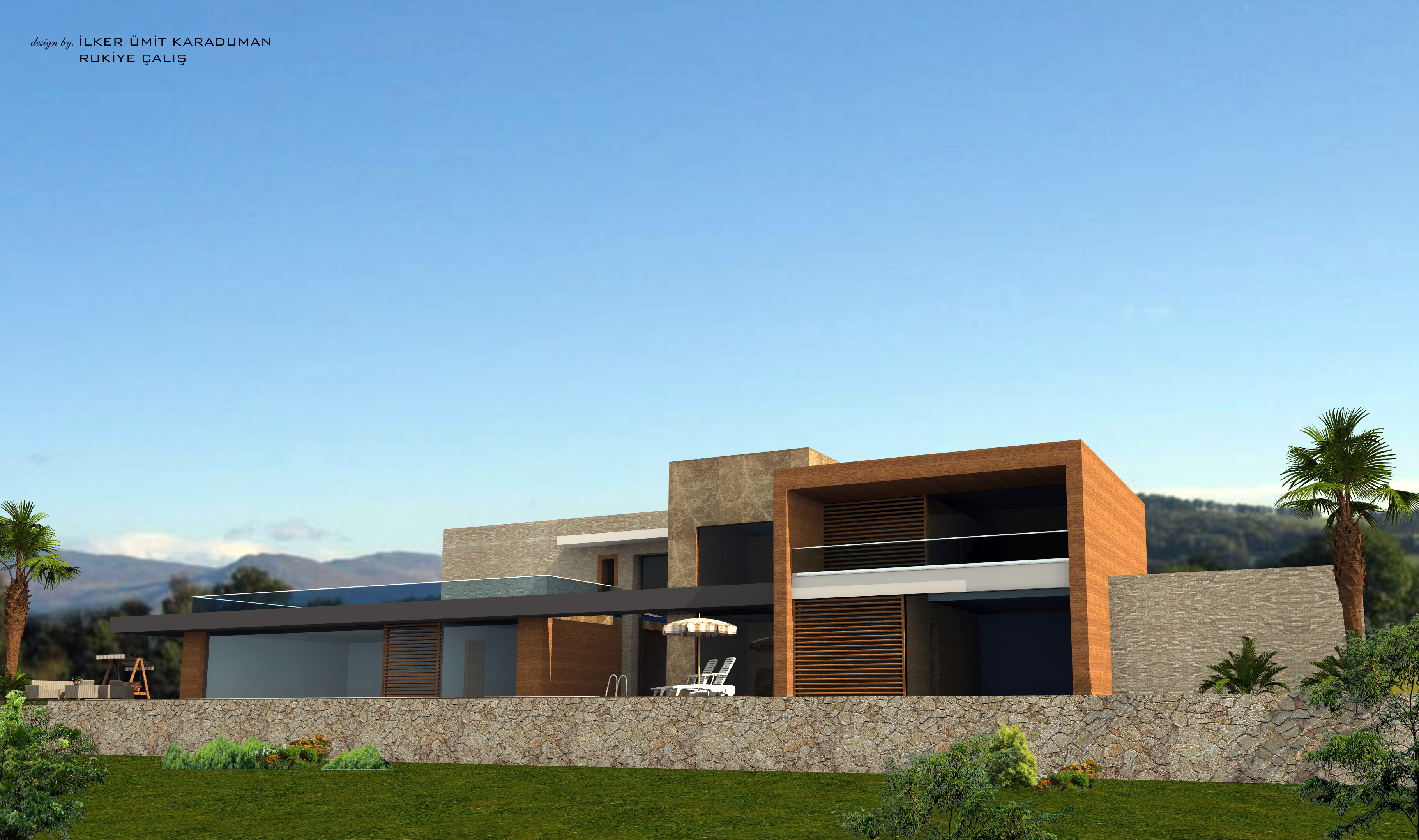 Luxusvilla bauen in Alanya MV1